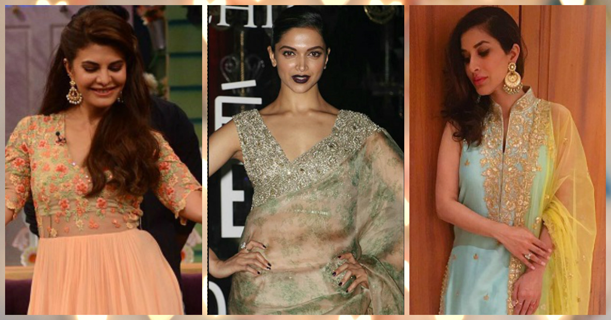 7 *Gorgeous* Celebrity Styles To Steal For Your Trousseau!