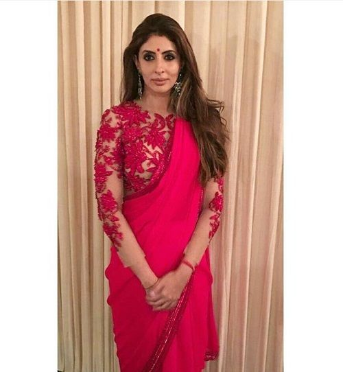 1 how to style a saree