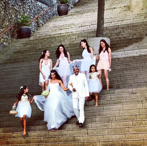 1 lisa haydon wedding pictures