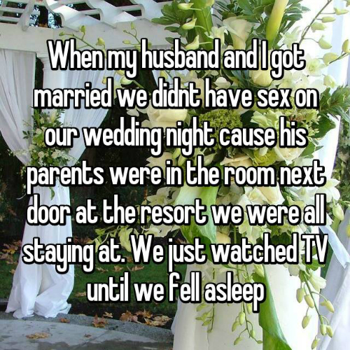 1 what happens on wedding night