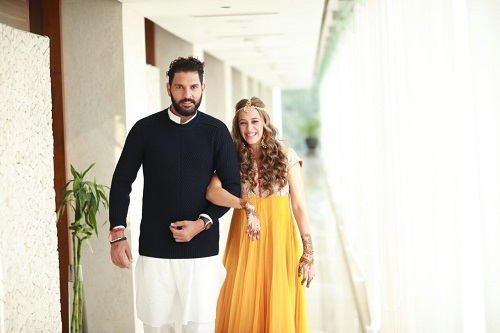 3 Yuvraj Singh gets married