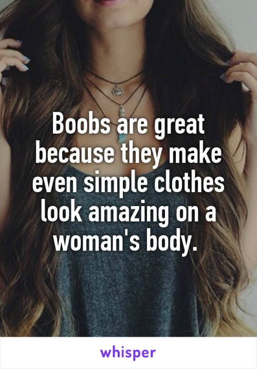 3 why do men like boobs
