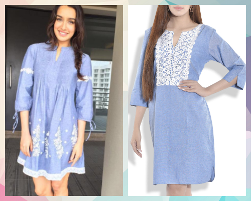 5 best celebrity dresses - shraddha kapoor