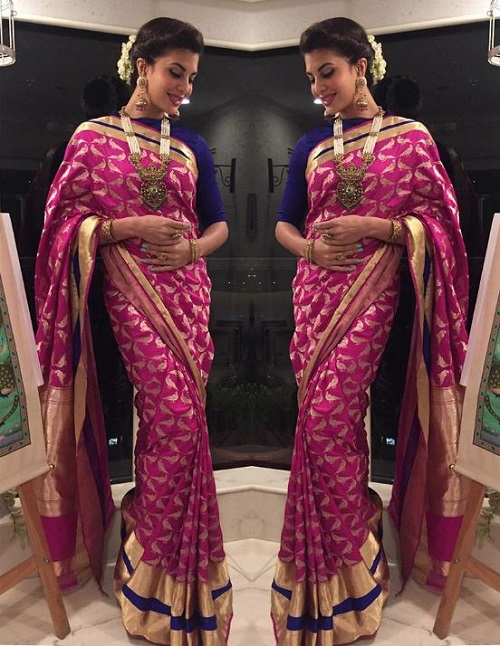 6 how to style a saree