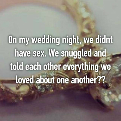 6 what happens on wedding night