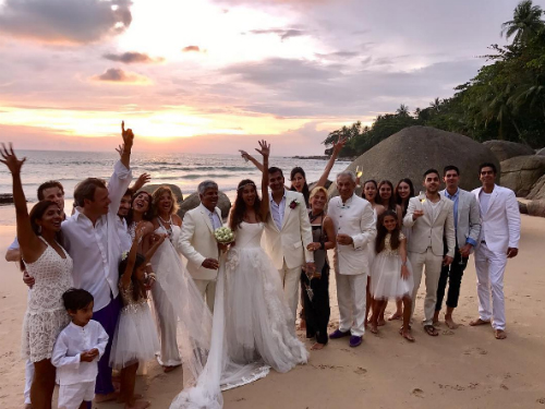 7 lisa haydon wedding pictures