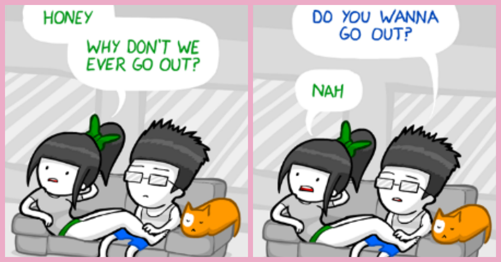 10 Hilarious Comics That Sum Up Your Relationship With Bae!