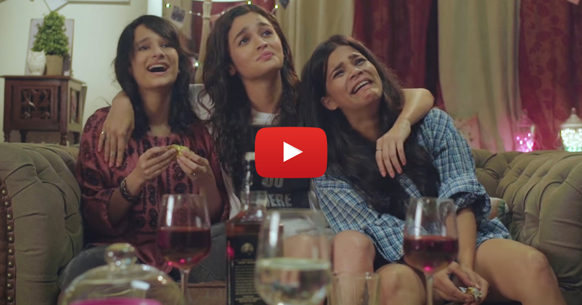 When Your BFFs Help You Get Over An Ex - This Is SO Funny!