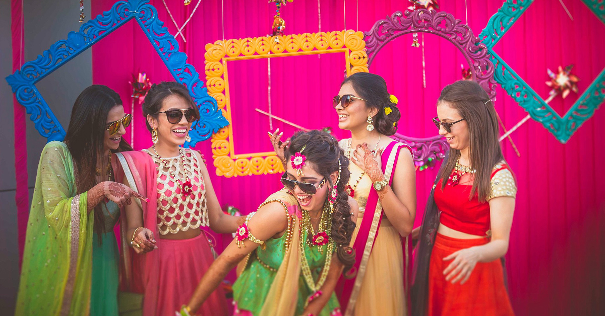 10 Ideas For The Most Colourful & Fun Mehendi Function EVER!