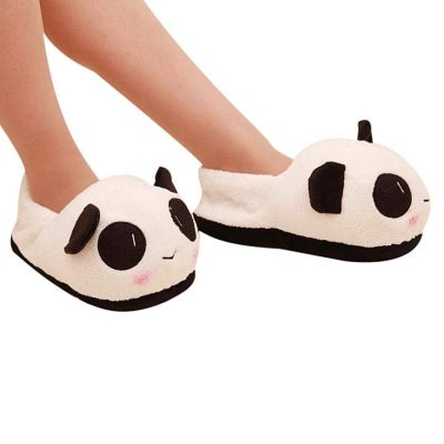 panda-slippers-winter-wear