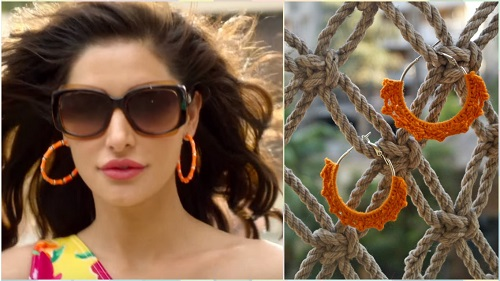 2 bollywood style earrings