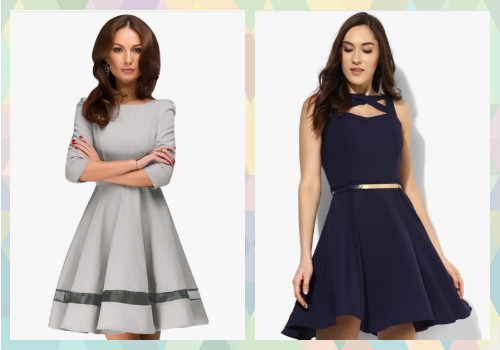 2 dresses for different body shapes