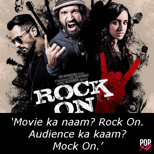 2016 bollywood movie reviews - rock on 2 b