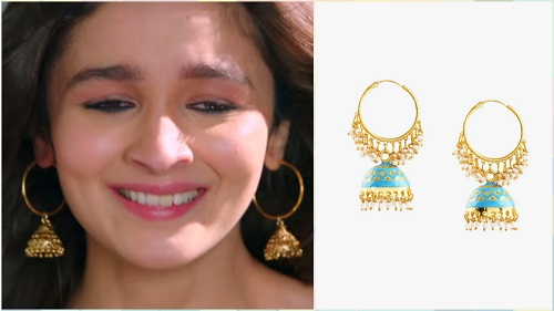 3 bollywood style earrings