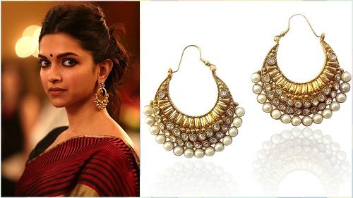 5 bollywood style earrings