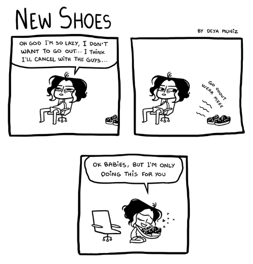 5 funny comics about girls
