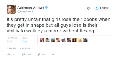 5 funny tweets about boobs