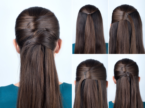 6 different hairstyles