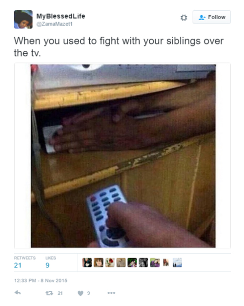 7 funny tweets about siblings