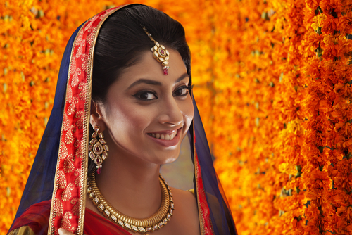 9 wedding makeup with your bridal outfit