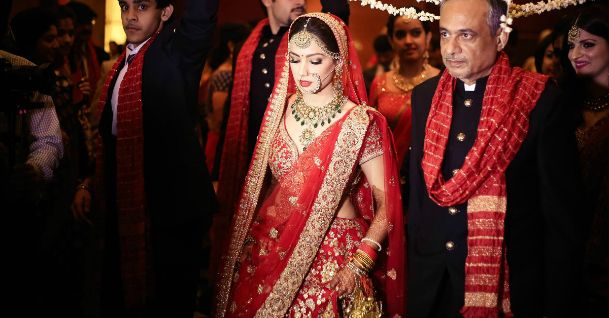 10 Brides Who Wore The *Prettiest* Lehengas Ever!