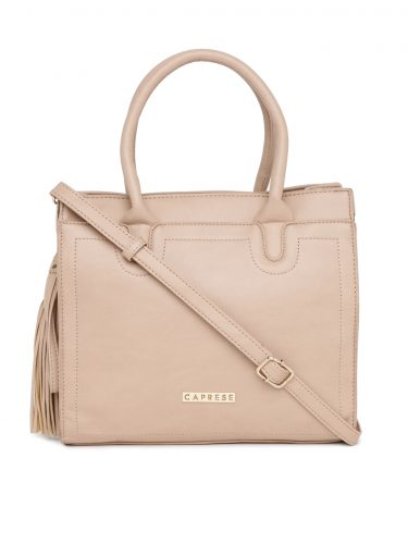 nude color hand bag