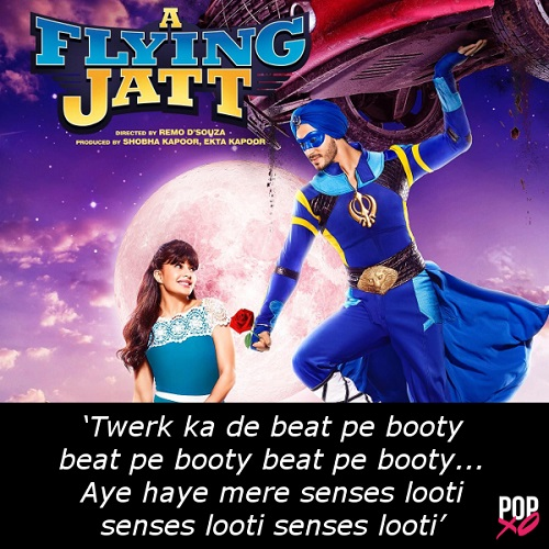 one line movie review - a flying jatt b
