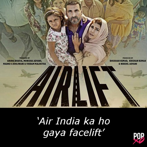 one line movie review - airlift b