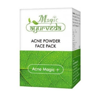 11 face packs for glowing skin - Natures Essence Acne Magic Powder Face Pack