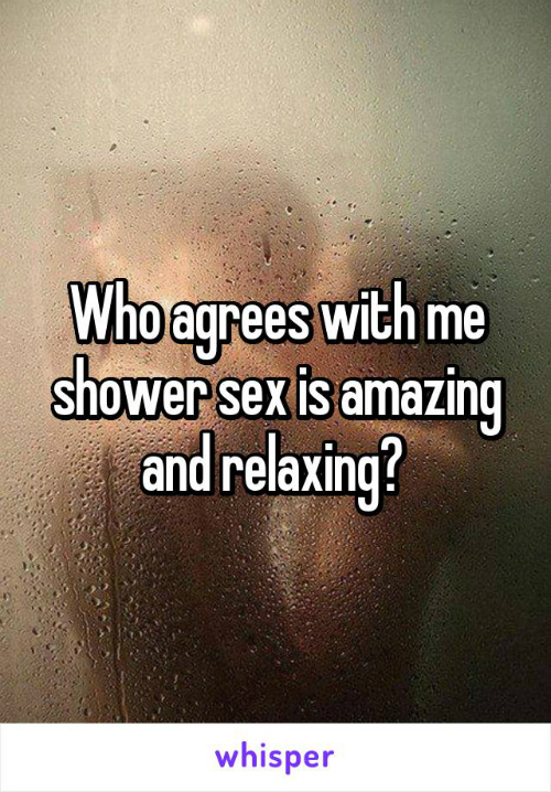 5 shower sex