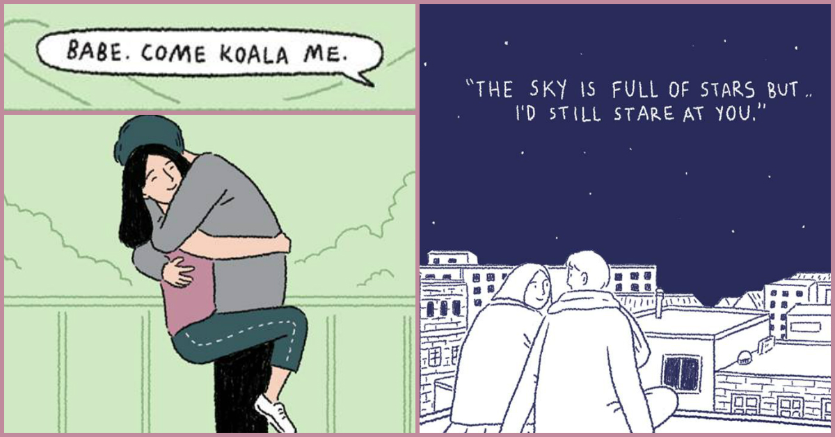 11 Sweet, Cute, Adorable Moments Of Love… Illustrated!