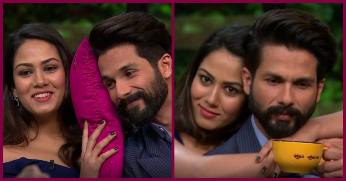 21 Adorable 'Shahid & Mira' Moments From Koffee With Karan!