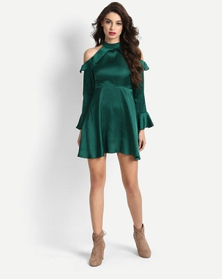 2 dresses for girls with dusky complexion