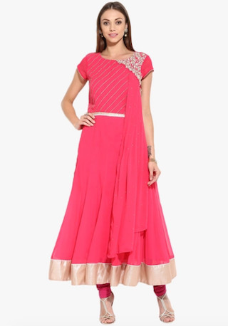 7 anarkali suits for the wedding guest