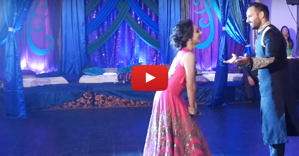 This Bride's Adorable, Filmy Sangeet Dance Will Make You Smile!