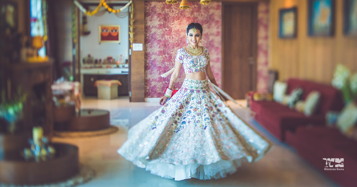 We're Crushing On This Blogger's Bridal Outfits…They're Magical!