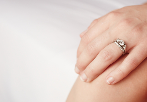 1 style your engagement ring
