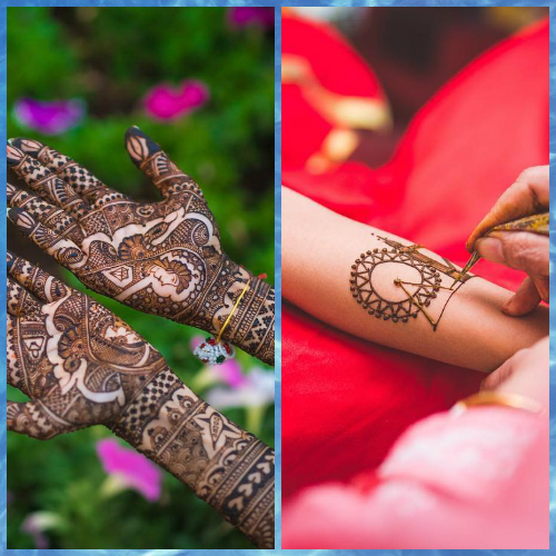 1 tell your love story with your bridal mehendi