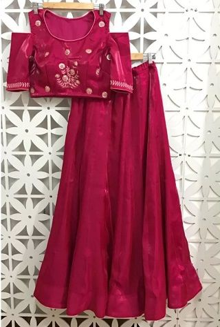 2 sangeet outfits