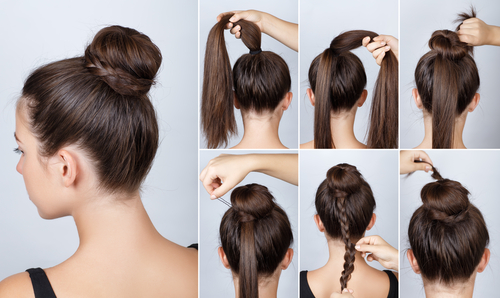 3 hairstyles for oily hair