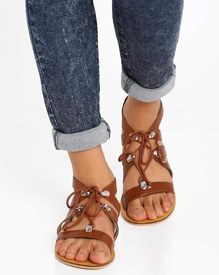 4 affordable strappy sandals