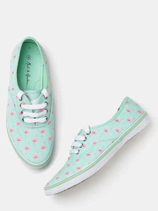 4 printed sneakers for college girls