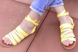 6 affordable strappy sandals