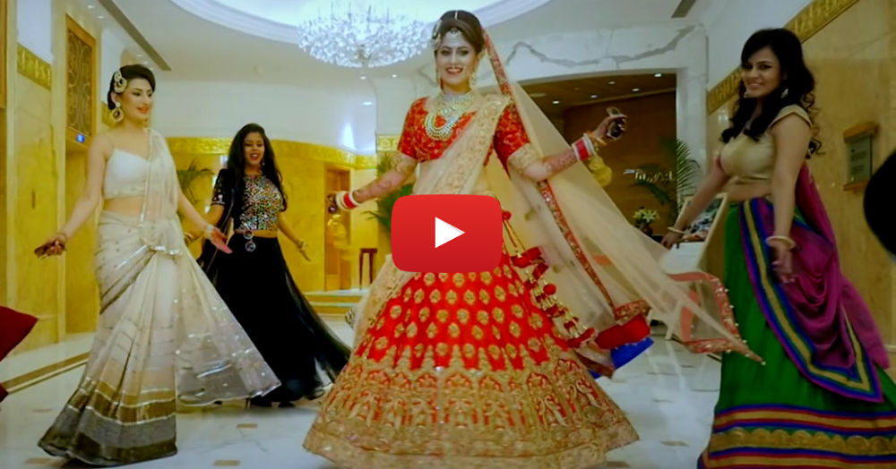 We Just Found The Coolest Bridal Entry Video… And It's AMAZING!