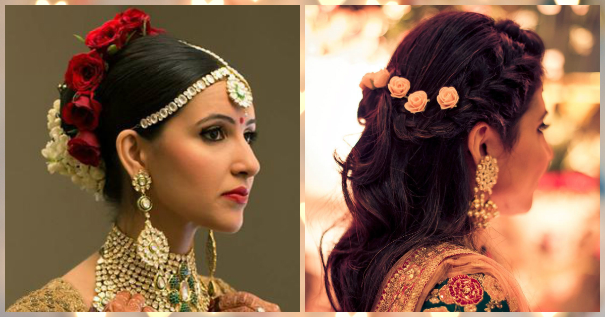 #RealBrides: The *Prettiest* Bridal Hairstyles With Flowers!