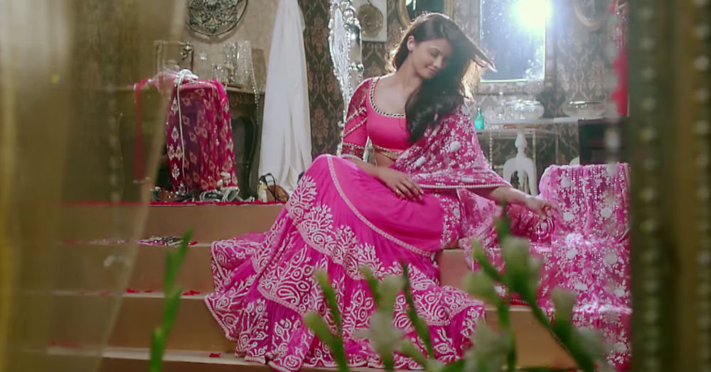15 Stunning Sangeet Outfits For The Bride Who Loves *Pink*