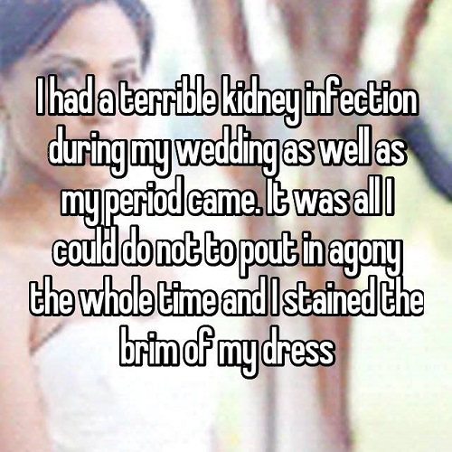 period on your wedding day 6