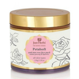 1 beauty products - just herbs anti tan face pack