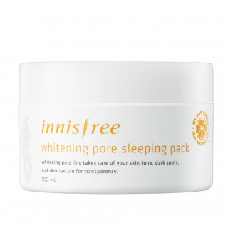 10 beauty products - Innisfree Whitening Pore Sleeping Pack