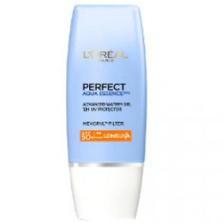 14 skincare products - L'Oreal Paris UV Perfect Aqua Essence SPF 50